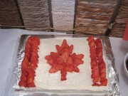 Canada Day! Bday cake)